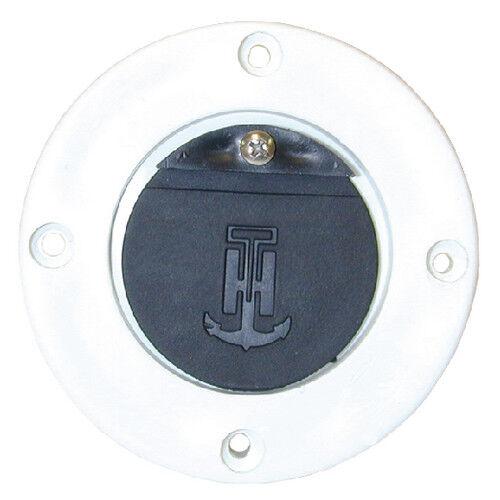 "1.25/"" Drain Tube Marine//Boat White Scupper Adapter for 1/"""