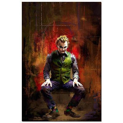 """Batman Joker The Dark Knight Rises Movie Art Silk Poster 13x20 24x36"""" TDK 024"""