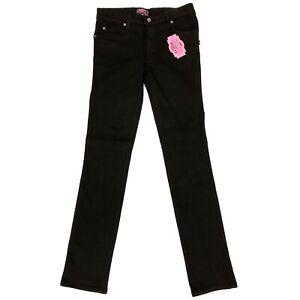 Trash and Vaudeville Tripp Gothic Punk Black Stretch Skinny Mens Jeans Size 36