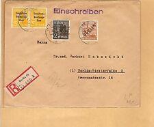 Berlin / Mi.-Nr. 9 + 36I + SBZ 191 (2) auf Orts-E.-Brief