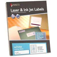 Maco Address Labels - Macml2000 on sale