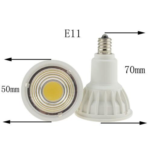 E11 E12 E27 E14 GU10 MR16 Dimmable LED COB Spotlight 15W Bulb Lamp Ultra Bright