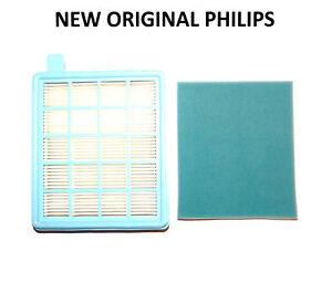 Motor Hepa Filter /& Sponge For Philips PowerPro Vacuum Cleaner FC84* 86* 93* 95*
