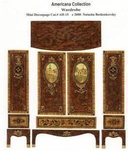 1-24-scale-Natasha-Beshenkovsky-039-s-Mini-Decoupage-Print-Americana-Wardrobe-1-2-034