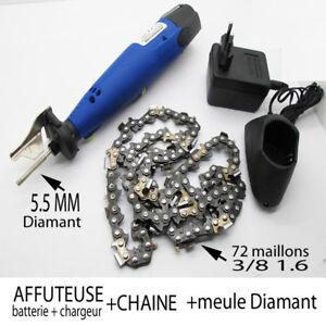 affuteuse diamant 5 5 chaine tronconneuse 72 maillons 1. Black Bedroom Furniture Sets. Home Design Ideas