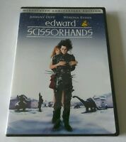 Edward Scissorhands (dvd, 2005, 10th Ann.edition) Johnny Depp Winona Ryder new