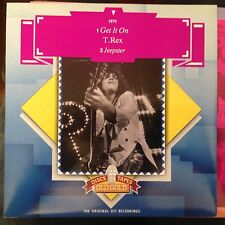 7'T.Rex  Get it on/Jeepster  70's GLAM GOLD/OLD GOLD