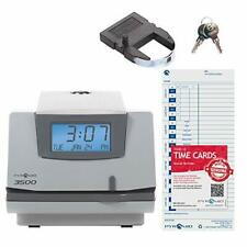 Pyramid Time Systems Model 3500 Multi Purpose Time Clock And Document Stamp