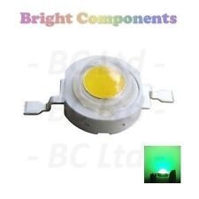 10 x 1W Green Power LED - Ultra Bright - 10 Pack - 1st CLASS POST