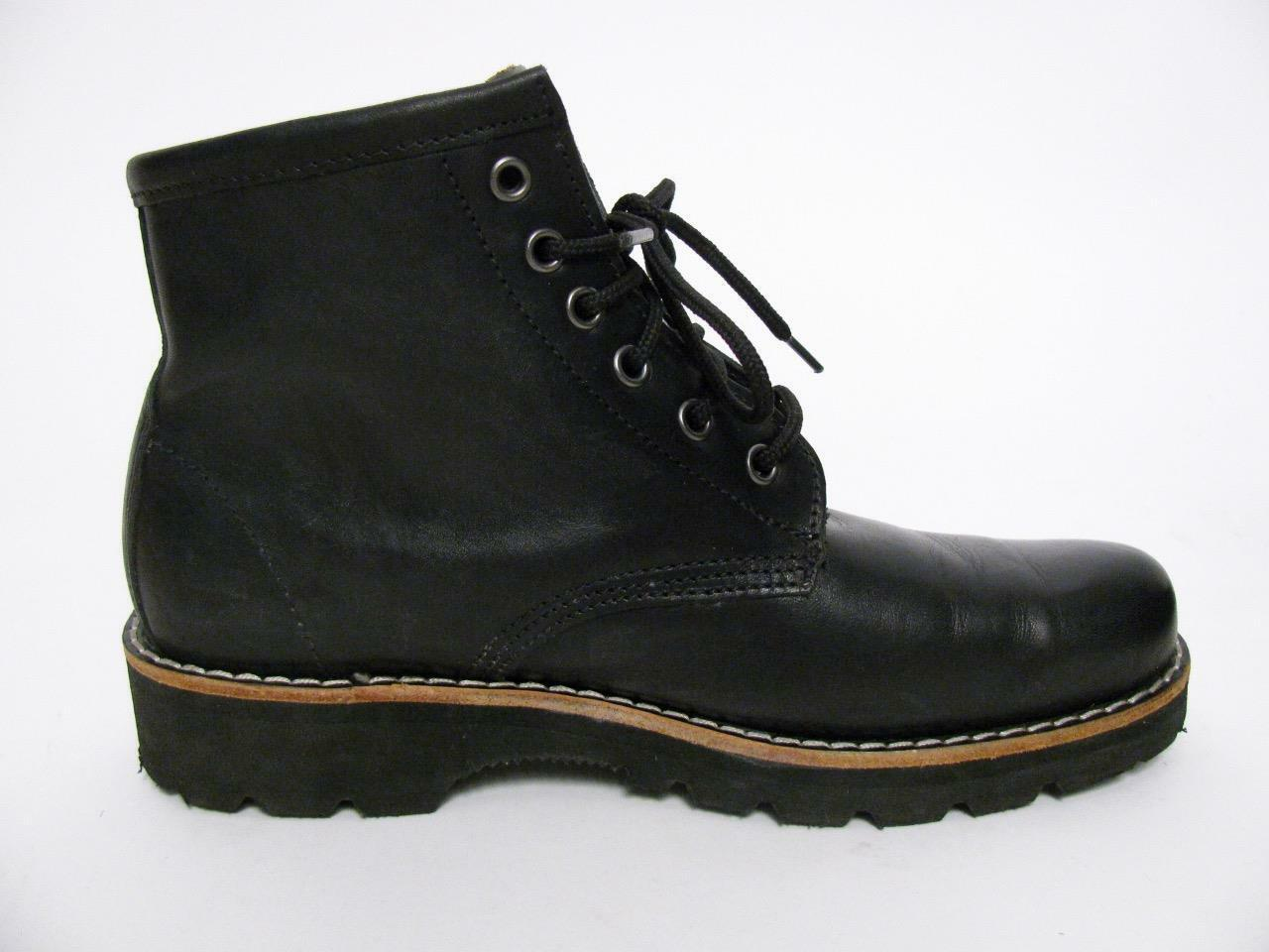 ROOTS CANADA BLACK LEATHER AMAZING LACED CHELSEA AMAZING LEATHER QUALITY LADIES Stiefel Schuhe 9.5 c5c82f