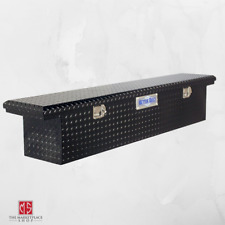 Truck Tool Box Low Profile Design Storage Organizer Diamond Plate Aluminum Style