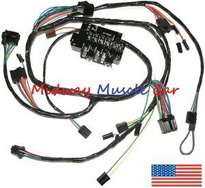 [DIAGRAM_38IU]  under dash wiring harness & fuseblock Chevy pickup truck suburban 63 64 65  66 | eBay | 1966 Gmc Dash Wiring Harness |  | eBay
