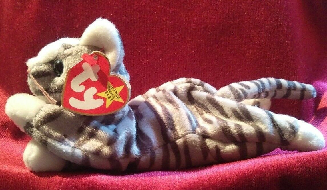 TY Beanie Baby Prance the Cat