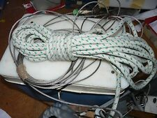 Stainless Steel Wire /Rope Halyard Swivel Snap Shackle Sailing Yacht