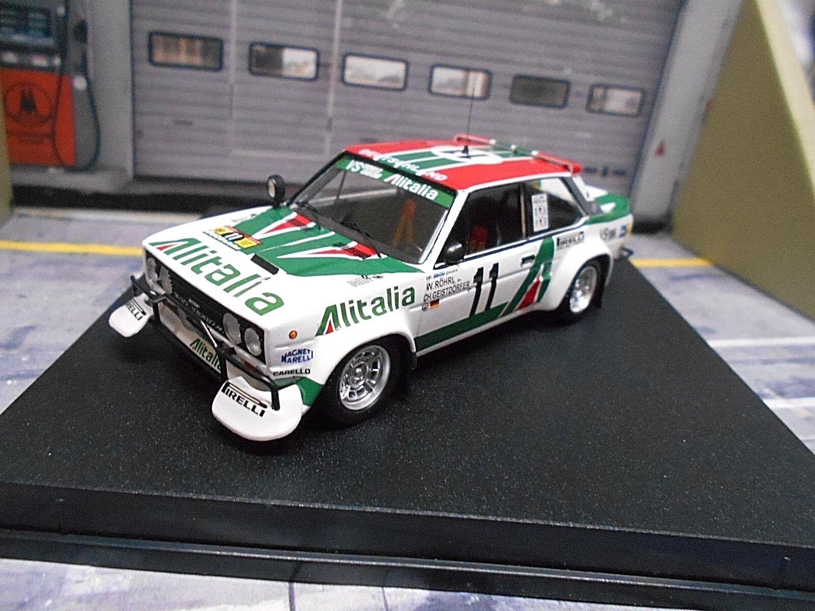 FIAT 131 Abarth Rally Safari 1979  11 Röhrl geistdör Alitalia 1426 Trofeu 1 43