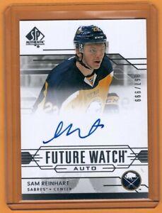 2014-15-SP-Authentic-Sam-Reinhart-Future-Watch-Auto-867-999-Sabres