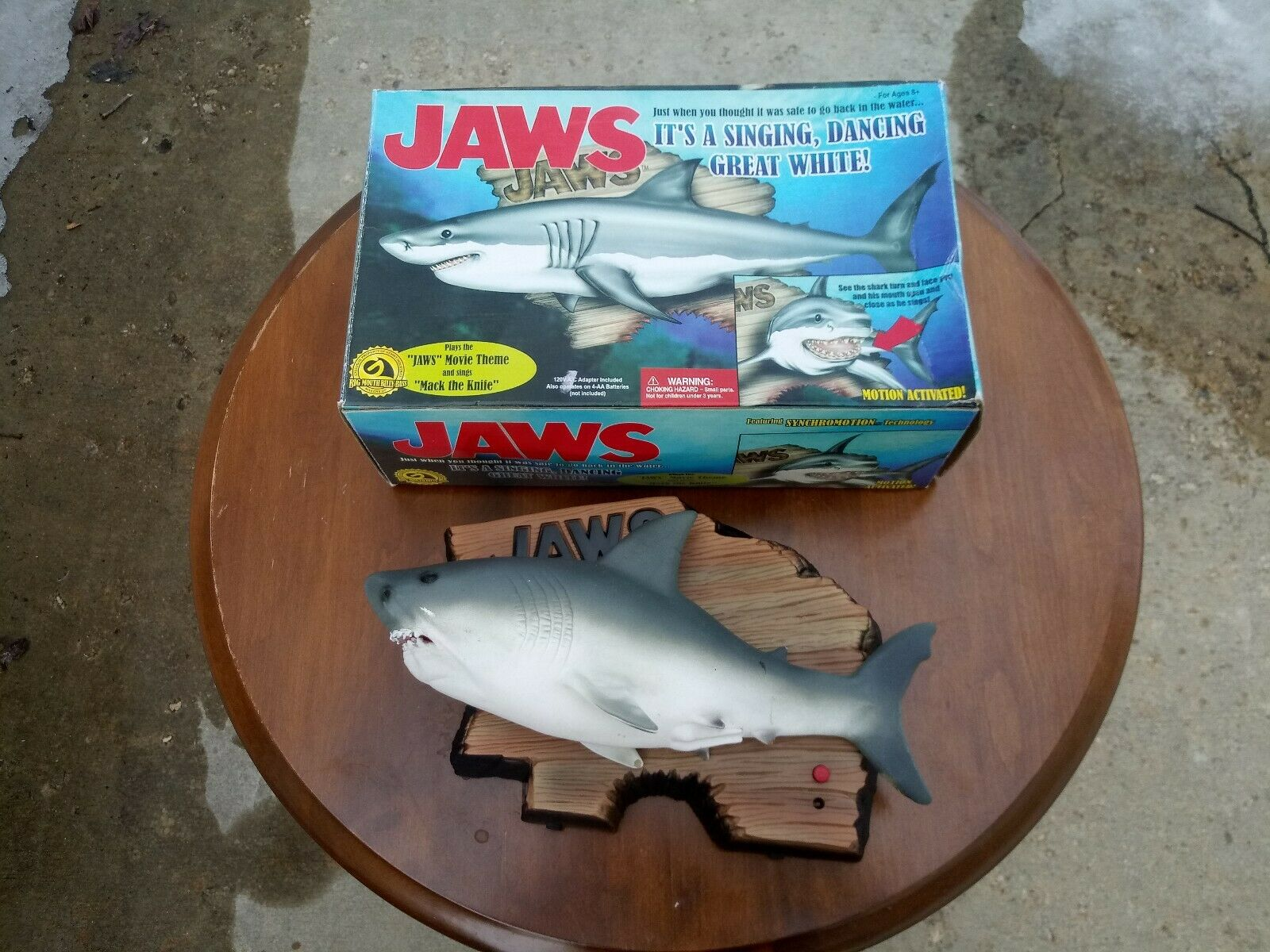 Jaws Singing And Dancing Great White Gemmy Industries In Box