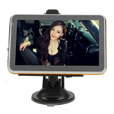 "New 5"" TFT Touch Screen 4GB Car GPS Navigator FM USA Map Support MP3/MP4 Player"