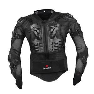 HEROBIKER-Veste-de-protection-complete-pour-le-cross-country-noir-M