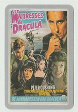 2006 Spanish Pocket Calendar featuring Brides of Dracula Poster Peter Cushing