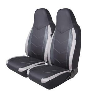PIC AUTO Low Back Car Seat Covers Universal Fit Airbag Compatible Sports Carbon Fiber Mesh Design Black