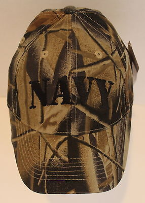 Navy Camo Youth Hat Military Adjustable Ball Cap Embroidered QUALITY Childs Lic.