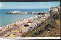 Norfolk Postcard - The Pier & Promenade, Cromer From The West   J829