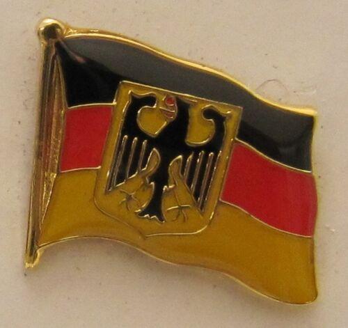 Pin Anstecker Flagge Fahne Deutschland Dienst Adler Flaggenpin Badge Button
