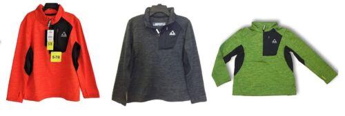 Size//Color Varies    I-9 Gerry Boys 1//4 Zip Lightweight Athletic Fleece Jacket