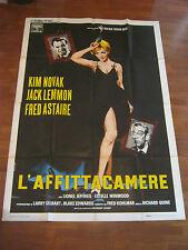 manifesto,1962,L'affittacamere Notorius Landlady,Kim Novak,Fred Astaire,J.Lemmon