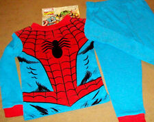 MARVEL COMICS 2PC SPIDER MAN COTTON PANT PAJAMA Size 4