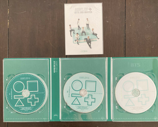 BTS 3rd Muster Army.zip DVD And Postcard ONLY (Read Description)