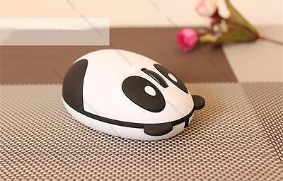 New Cute Wired USB 3D Panda Optical Mouse Mice for Computer PC Laptop Desktop