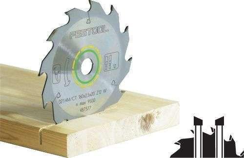 Festool Standard-Sägeblatt 190x2,8x30 W16 486296
