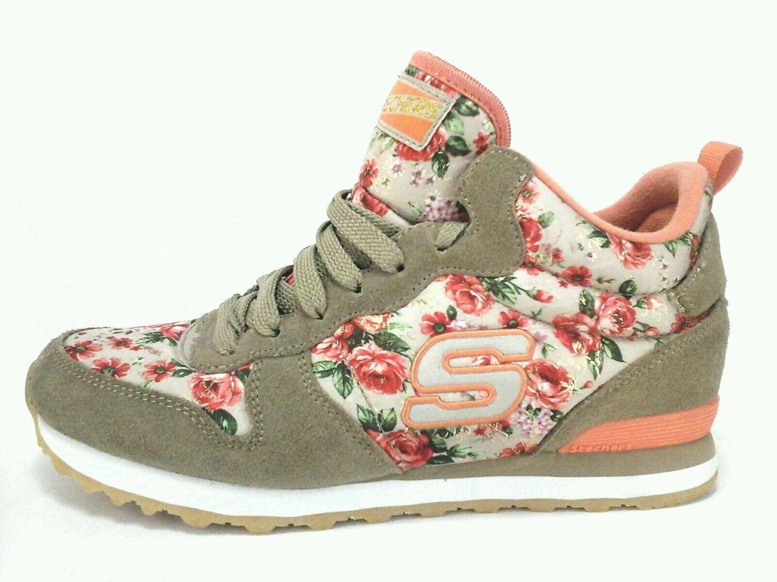 Women Shoes Skechers Memory Foam Air Cooled Roses Print US 10 EUC