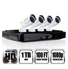 Night Owl AHD10-841 8-Ch. 1TB DVR with 4 Cameras
