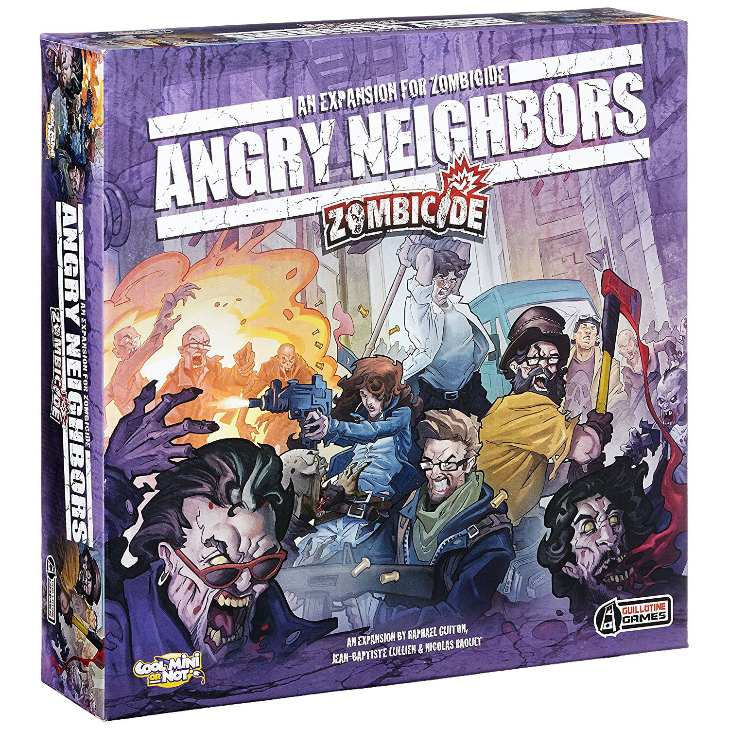 Zombicide Angry Neighbors - Cool Mini or Not - New Board Game