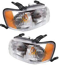 2001 2002 2003 2004 FORD ESCAPE HEAD LIGHTS LAMP LEFT & RIGHT PAIR SET 2PCS
