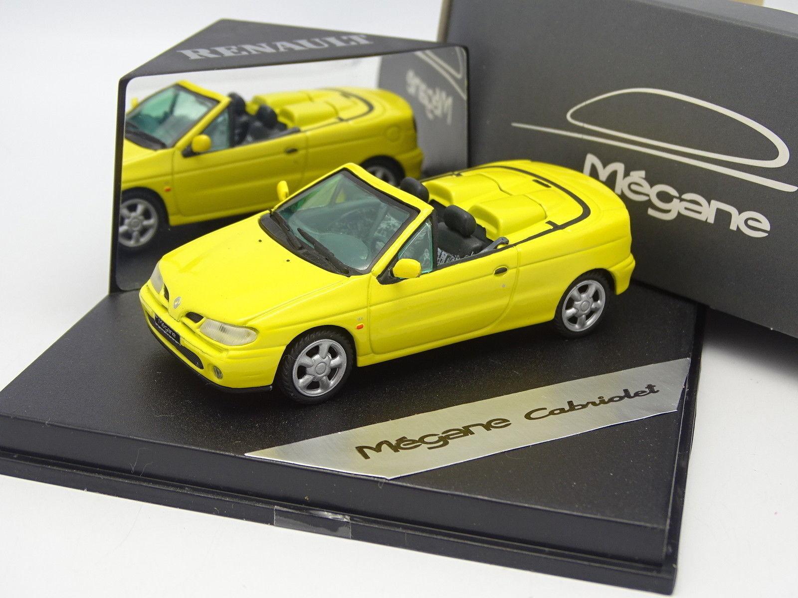 muchas concesiones Velocidad 1 1 1 43 - Renault Megane Cabriolet Amarillo  solo para ti