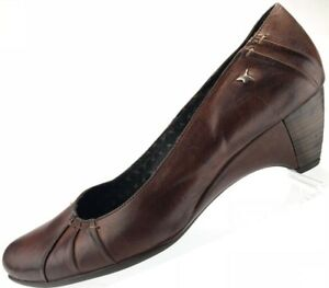 381948cb2729 Image is loading Pikolinos-Pumps-Slip-On-Classic-Leather-Wedge-Heels-