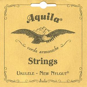 Aquila 19U Tenor Ukulele Nylgut 8-String Set Regular Tuning Key of C