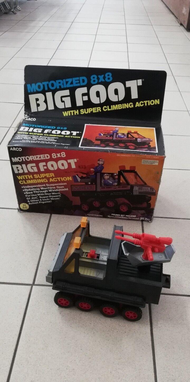Veicolo Big Foot Gi Joe Vintage Raro