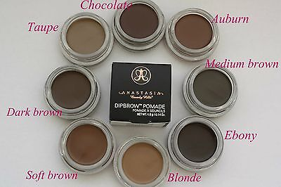 Anastasia Beverly Hills 100% AUTHENTIC DIP BROW POMADE Pick 1 AMONG 11 Color NIB