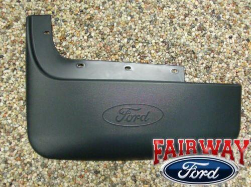 11-16 Super Duty F350 Dual Wheels OEM Ford Molded Splash Guards Rear Pair 2-pc