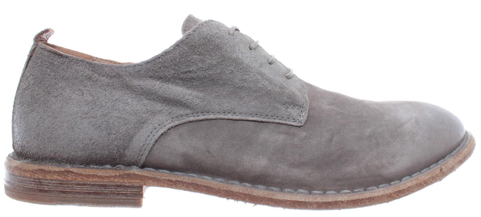 MOMA Herren Schuhe Klassische 22901-4D Oliver grau Wildleder Grau Vintage Neu
