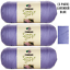 3-Pack-Yarn-Solids-Lavender-Blue-Caron-Simply-Soft-H97003-9756 thumbnail 1