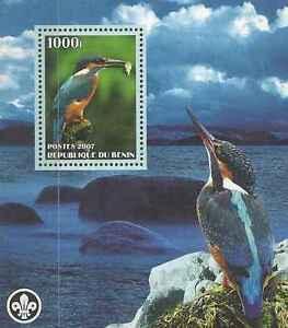 Timbre-Oiseaux-Benin-annee-2003-lot-9651
