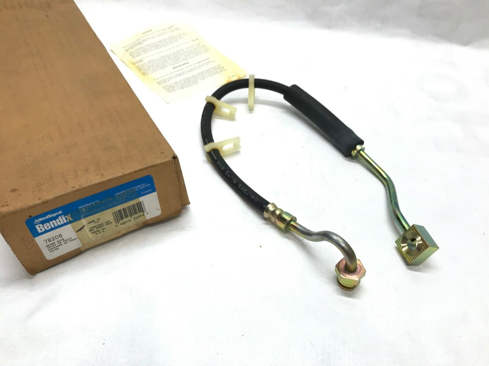 Brake Hydraulic Hose-Hose Front Left Bendix 78208