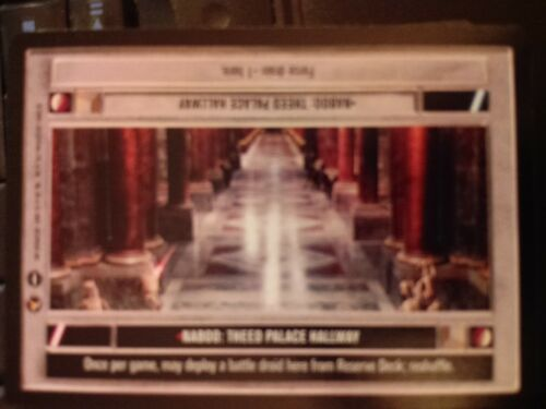 Theed Palace Hallway DS NrMint-MINT SWCCG Star Wars CCG Theed Palace Naboo