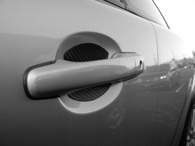 SUBARU ACCESSORIES CAR DOOR HANDLE SCRATCH COVER GUARD PROTECTOR FITS ALL 4 PK